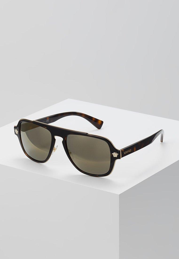 Versace - Okulary przeciwsłoneczne - dark havana