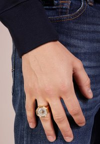 Versace - Ring - oro/palladio
