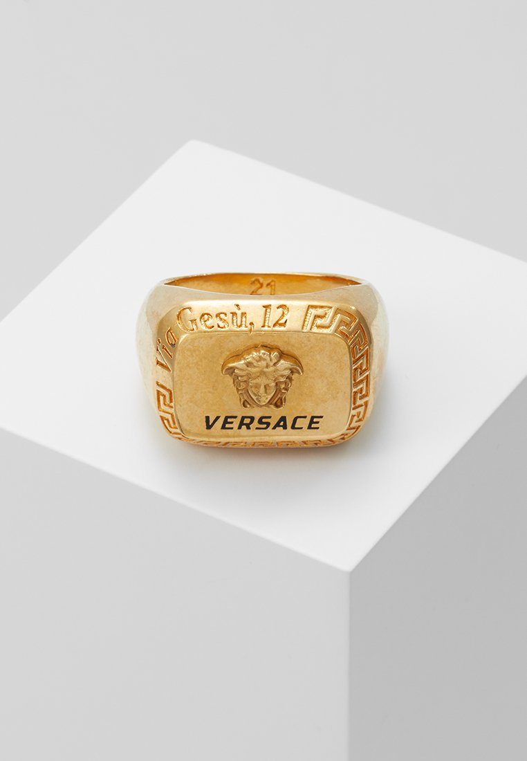 Versace - Ring - nero/oro tribute