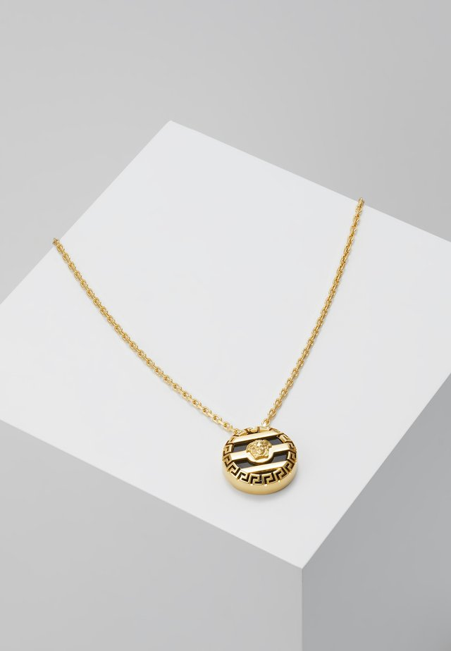 Necklace - nero oro