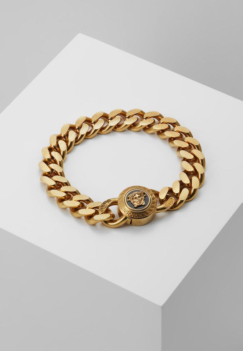 Versace - Armband - nero oro tribute