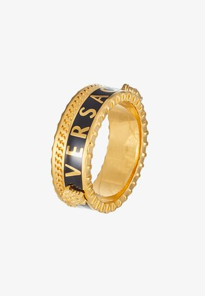 Prsten - nero/oro
