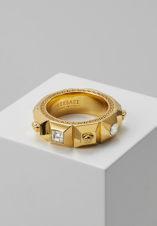 Ring - crystal/oro caldo