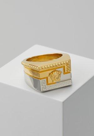 Prsten - silver-coloured/gold-coloured