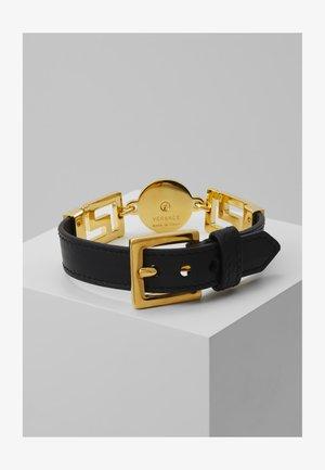 Armband - nero/oro caldo