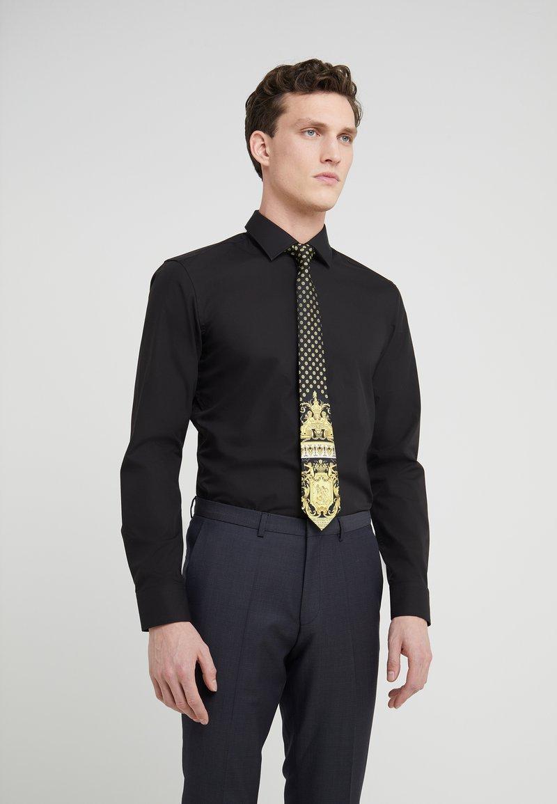 Versace - Krawatte - nero/oro