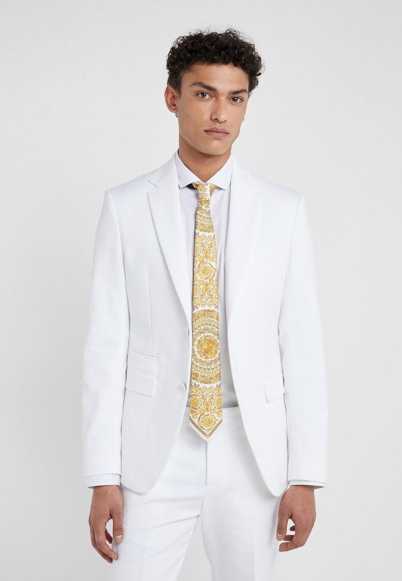 Versace - Cravate - bianco oro