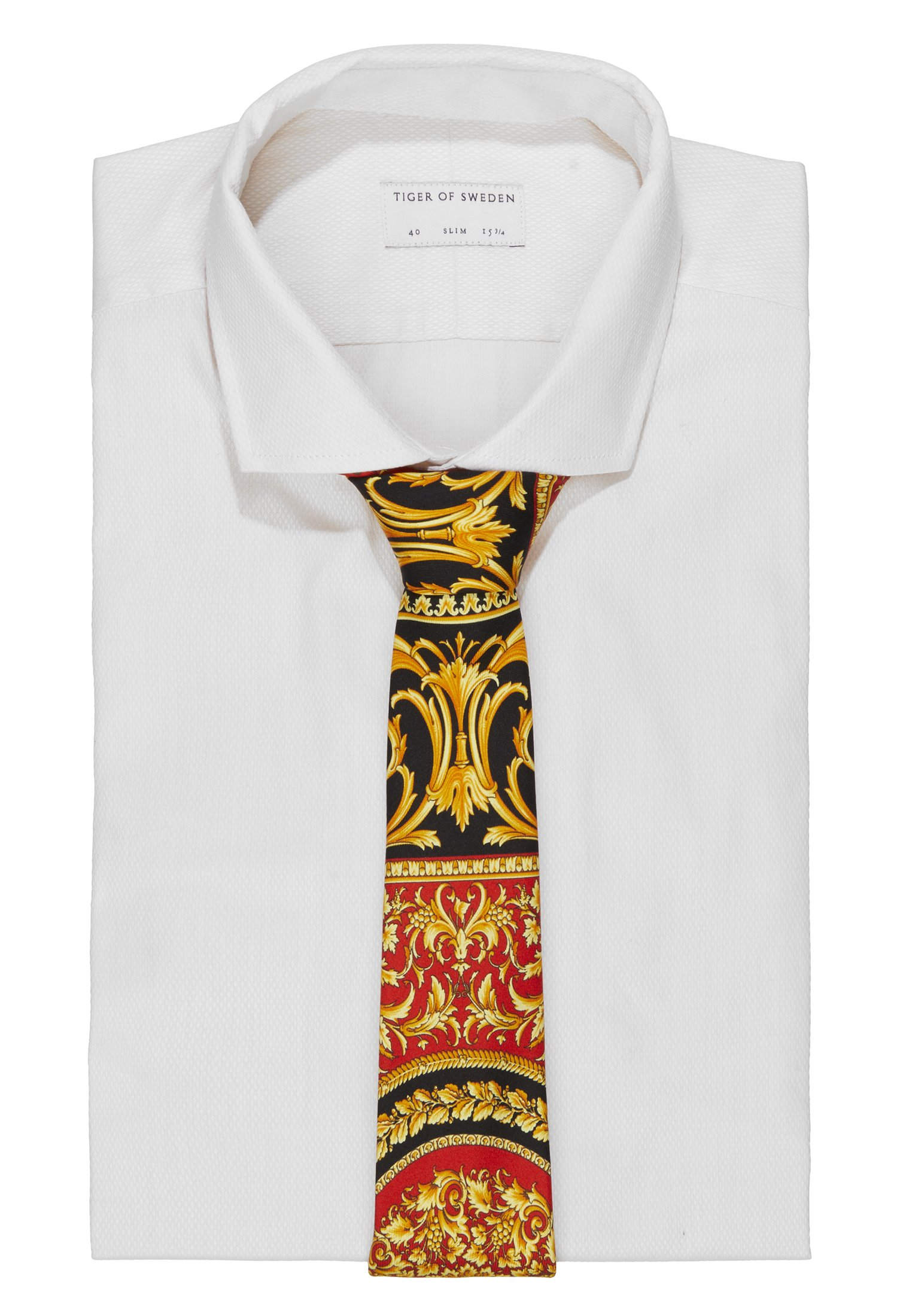 Versace Slips - Rosso + Stampa