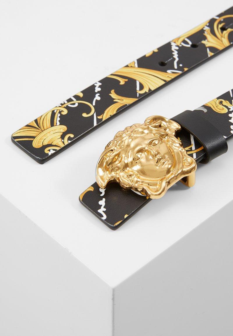 Versace - CINTURA FIBBIA - Pásek - nero