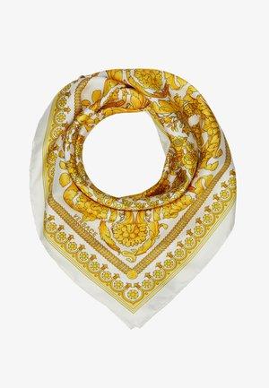 Šátek - bianco-oro