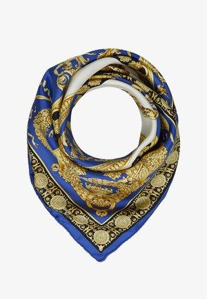 IFO - Scarf - bianco/blu royal