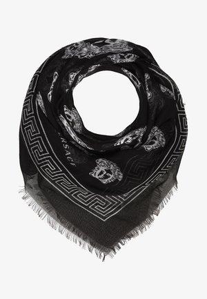 Šátek - nero/bianco