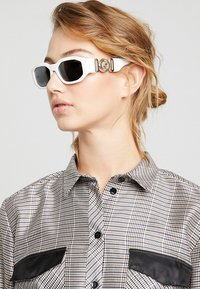 Versace - Sunglasses - white/black - 3