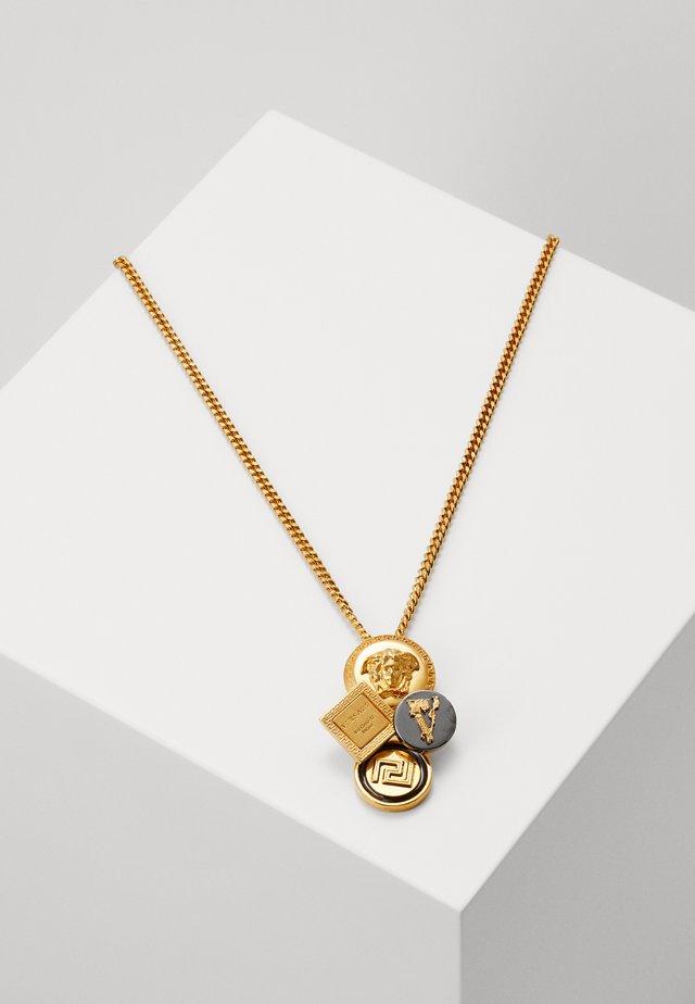 Necklace - oro tribute/ nero