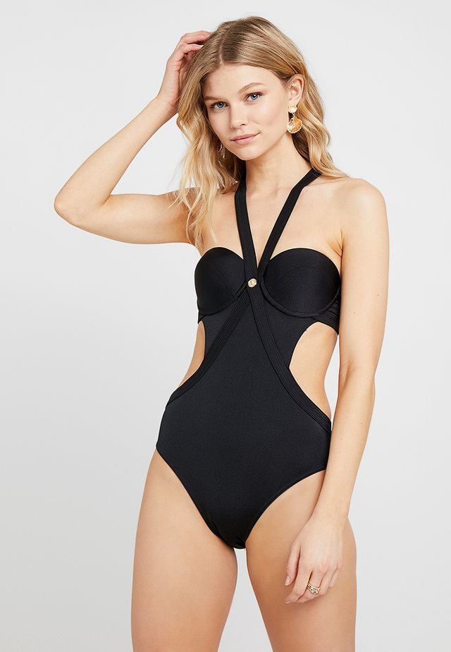 COSTUME INTERO MARE DONNA - Swimsuit - nero