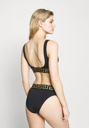 SLIP MARE DONNA - Bikini bottoms - nero