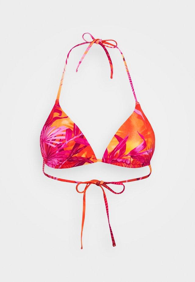 TRIANGOLO MARE DONNA - Bikinitop - fuxia arancio