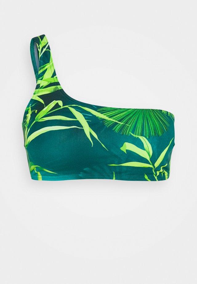 BRASSIERE MARE DONNA - Haut de bikini - verde/stampa