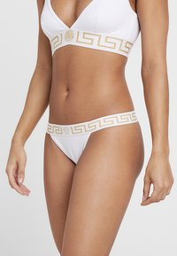 Versace - ELASTIC MEDUSA PERIZOMA - String - bianco - 0