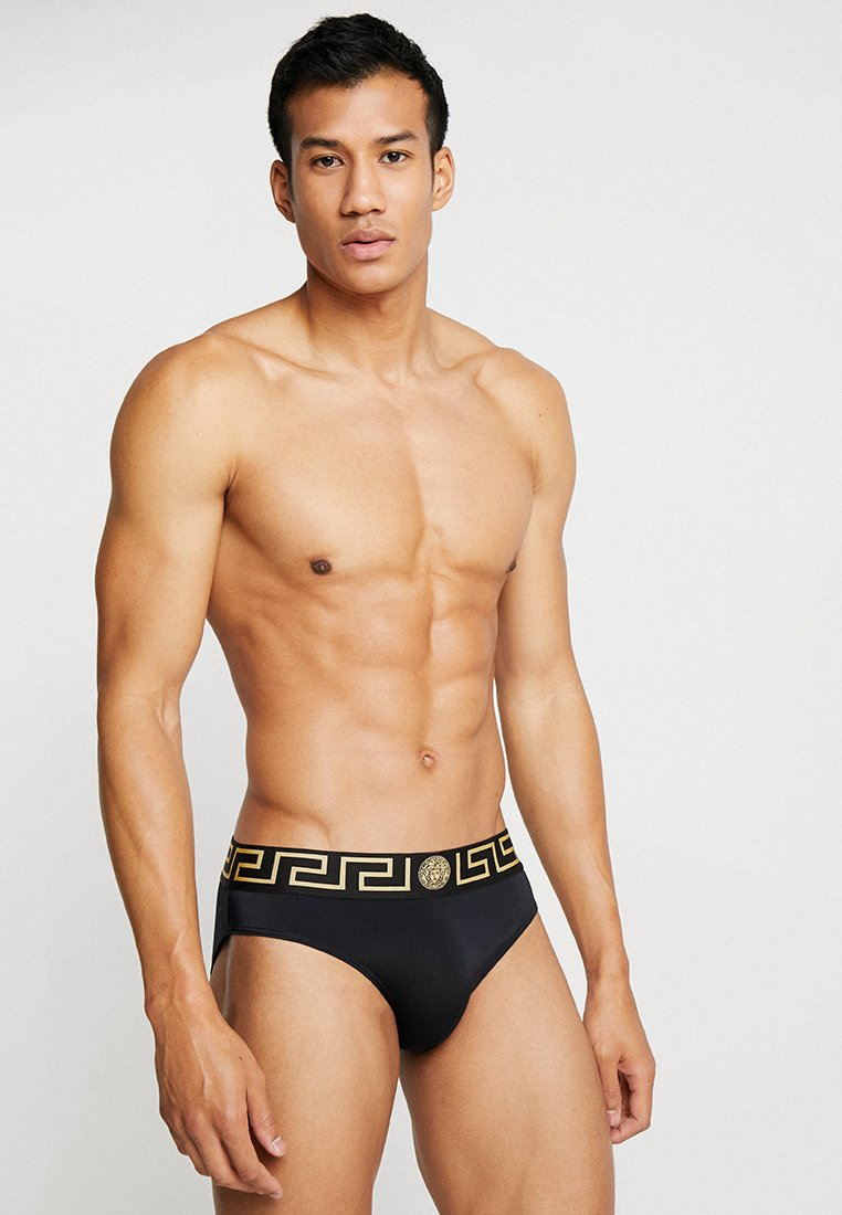 Versace - ICONIC MEDUSA - Plavky slipy - black