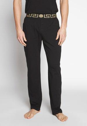 PANTALONE INTIMO UOMO - Pyjama bottoms - nero greca oro