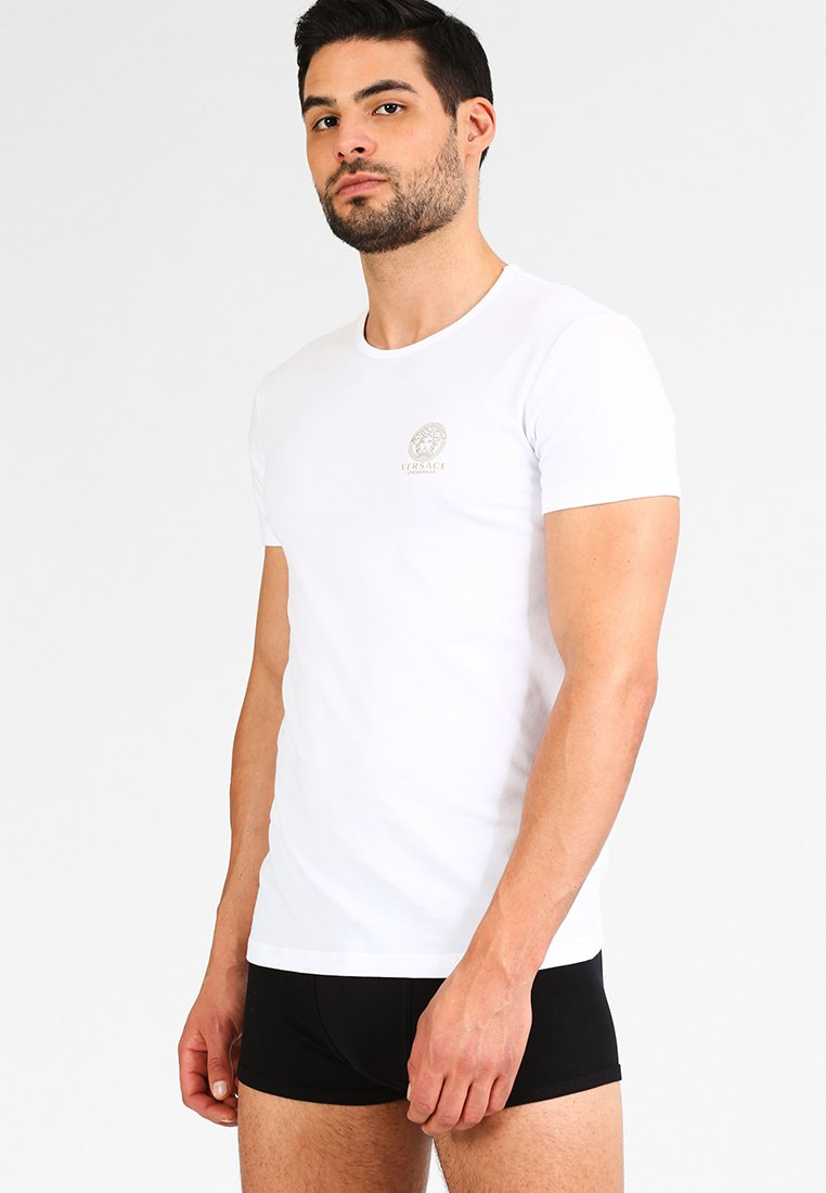 Versace - ICONIC 2 PACK - Camiseta de pijama - white/black