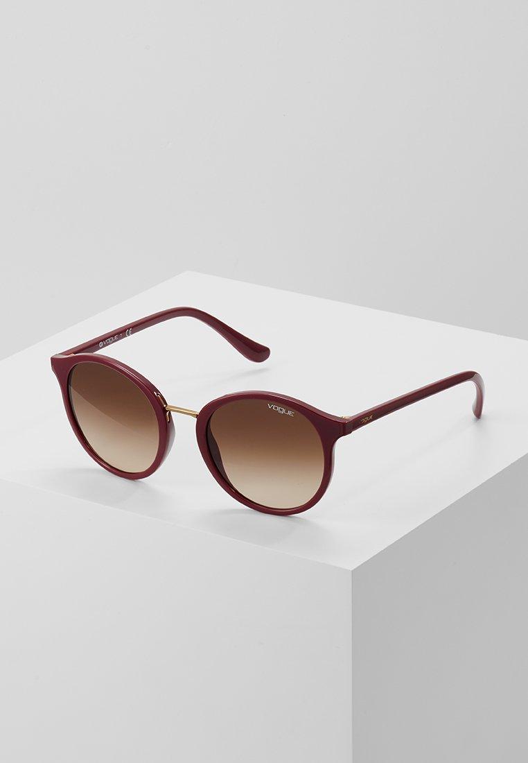 VOGUE Eyewear - Lunettes de soleil - red brown