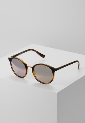 Sunglasses - black/rose gold