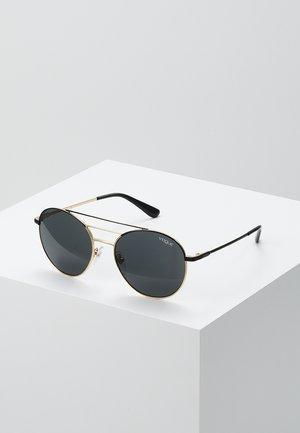 Sonnenbrille - black/gold-coloured