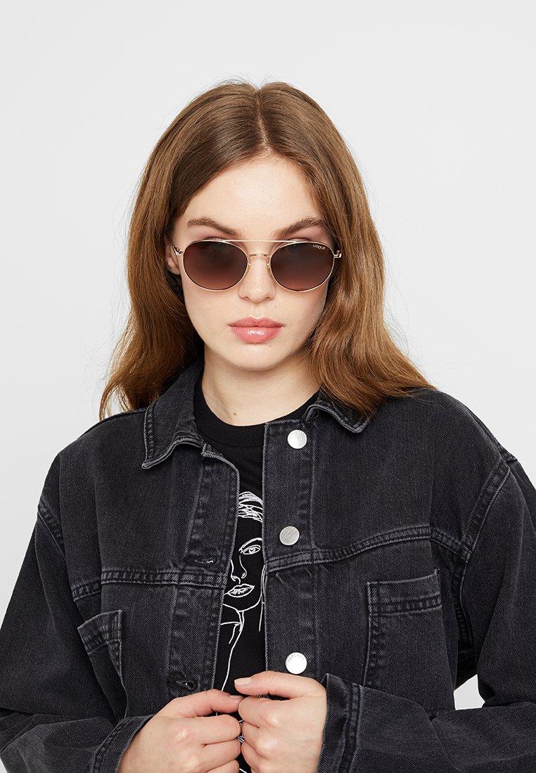 VOGUE Eyewear - Sluneční brýle - pale gold-coloured