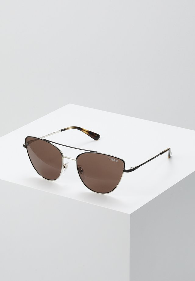 Sonnenbrille - brown/pale gold