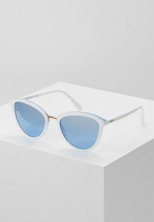 Sunglasses - white/light blue