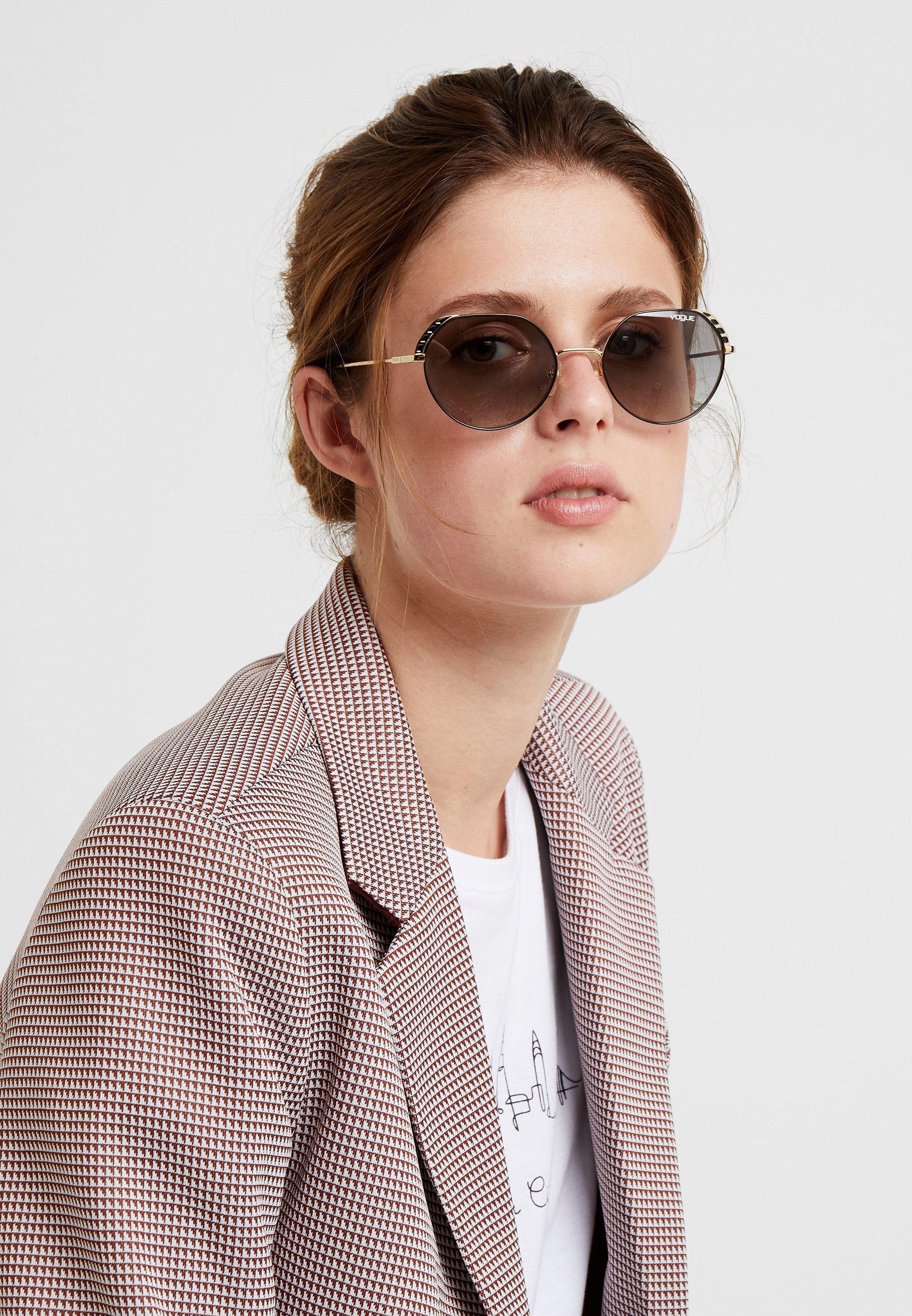 VOGUE Eyewear Solglasögon - gold-coloured/black