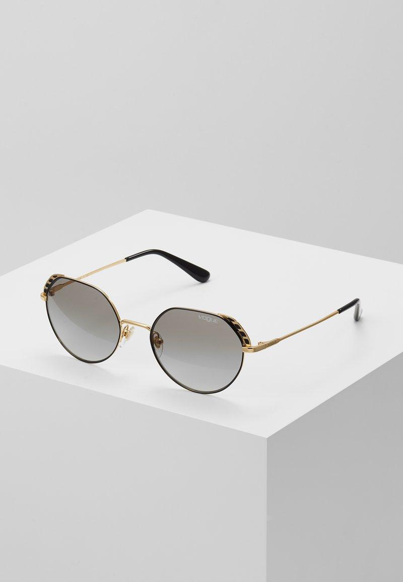 VOGUE Eyewear - Sonnenbrille - gold-coloured/black