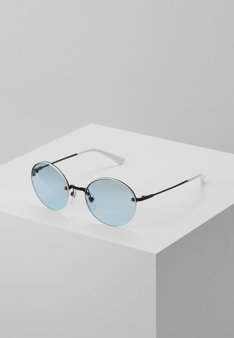 VOGUE Eyewear - Sunglasses - silver-coloured/blue
