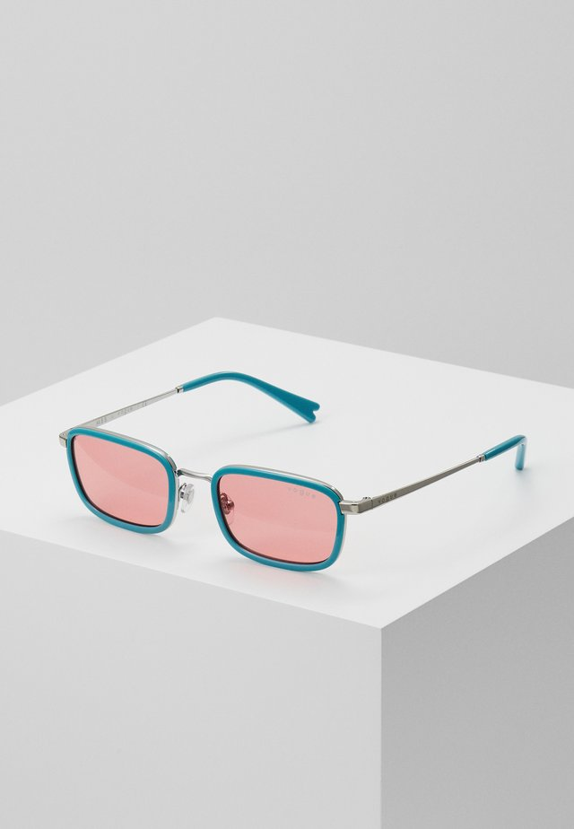 Sunglasses - blue/pink