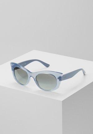 Sonnenbrille - transparent, blue