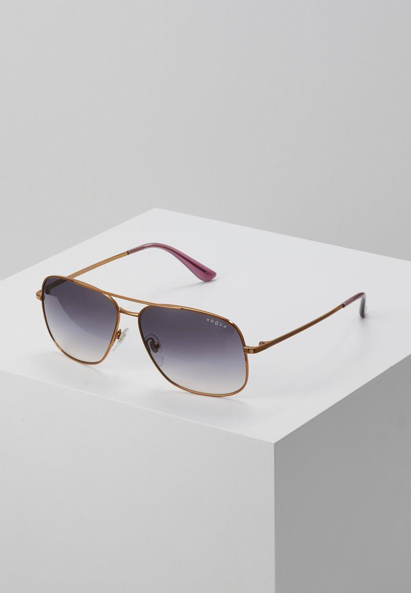 VOGUE Eyewear - Sluneční brýle - gold-coloured/purple