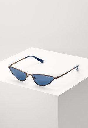 Sunglasses - copper/blue