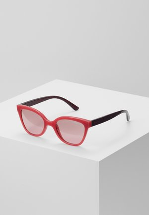 SUN - Sunglasses - red/grey