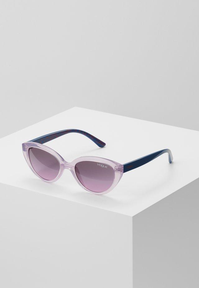 VJ SUN - Sluneční brýle - pink/grey