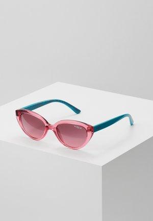 VJ SUN - Sunglasses - pink/turquoise
