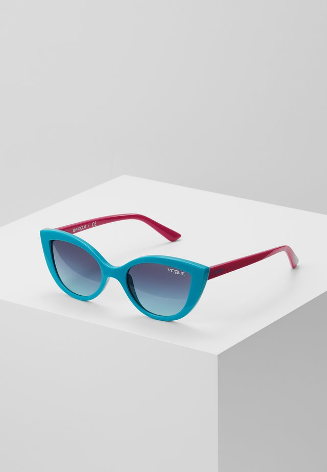 SUN - Solbriller - turquoise/pink