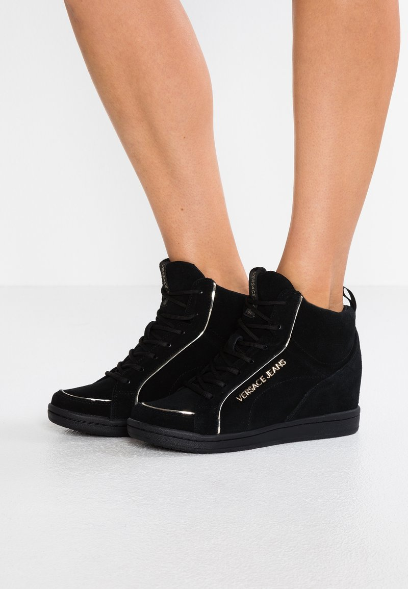 Versace Jeans - High-top trainers - black