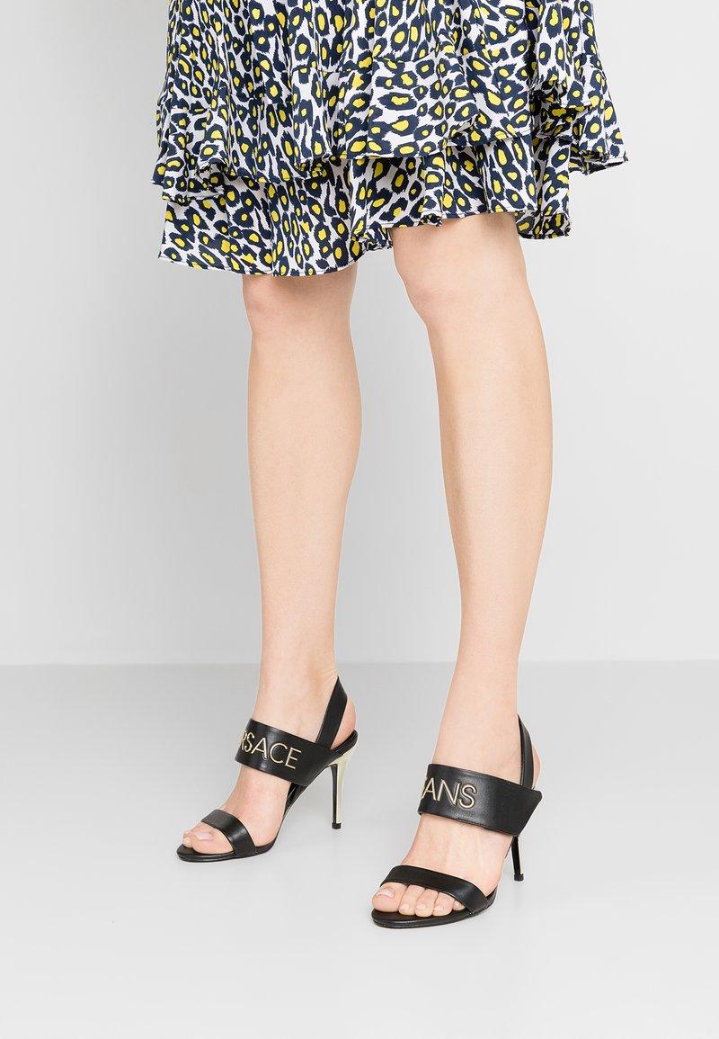 Versace Jeans - High Heel Sandalette - black