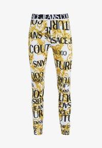 Versace Jeans Couture - Leggings - bianco ottico - 3