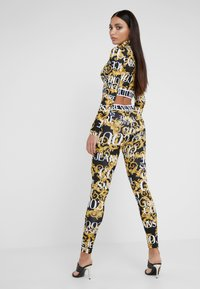 Versace Jeans Couture - Leggings - Trousers - nero - 2
