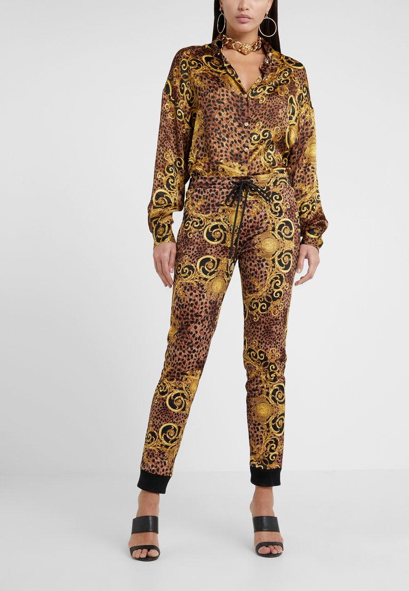 Versace Jeans Couture - Tracksuit bottoms - gold