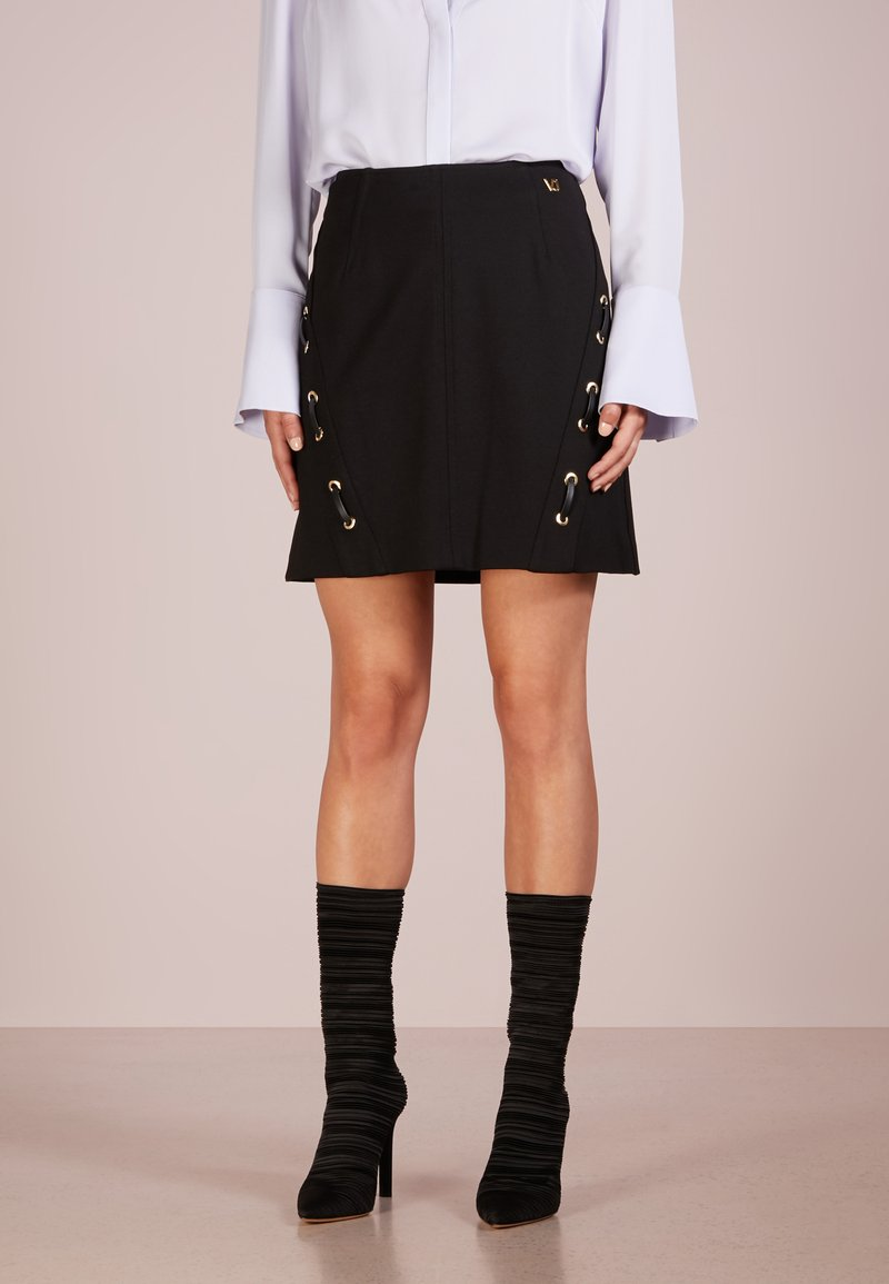 Versace Jeans - A-line skirt - nero