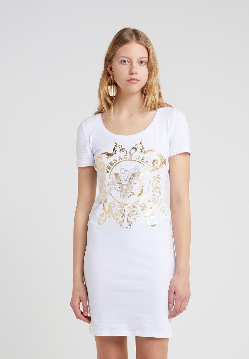 Versace Jeans - Etuikleid - bianco ottico